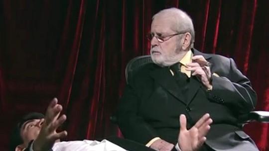 Marcelo Adnet pede conselhos a Jô Soares antes da estreia de 'Adnight'