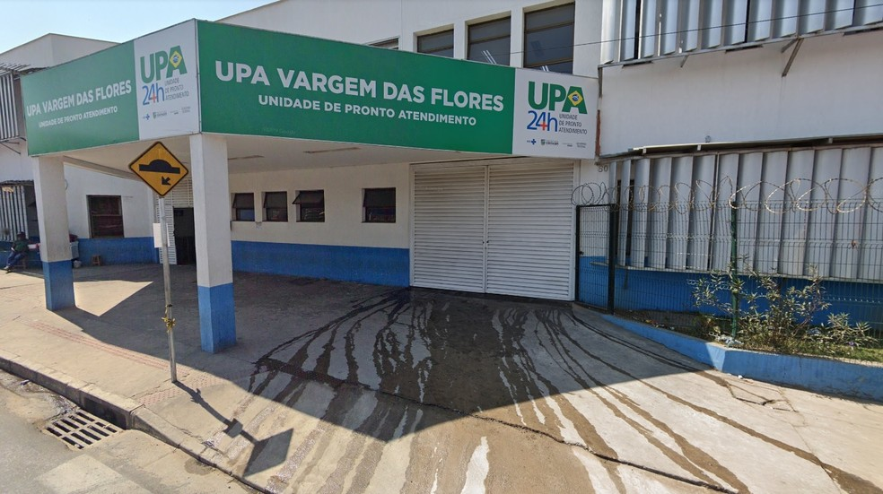 Crianças foram atendidas na UPA Vargem das Flores, em Nova Contagem e equipe médica confirmou os abusos. — Foto: Google Street View