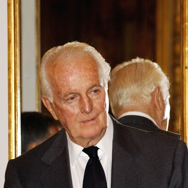 Hubert de Givenchy (Foto: Carlos Alvarez/Getty Images)