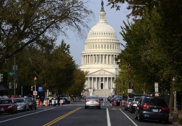 Capitólio, em Washington (Foto: Agência EFE)