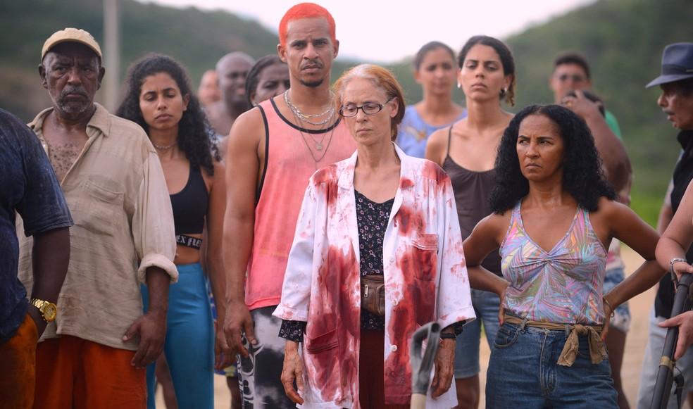 A atriz Sônia Braga em cena do filme 'Bacurau', premiado no Festival de Cinema de Cannes — Foto: Divulgação