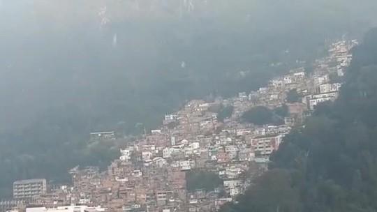 Moradores relatam intenso tiroteio no Morro Dona Marta, no Rio