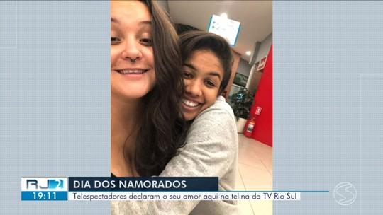 No Dia dos Namorados, RJ2 mostra casais do Sul do Rio
