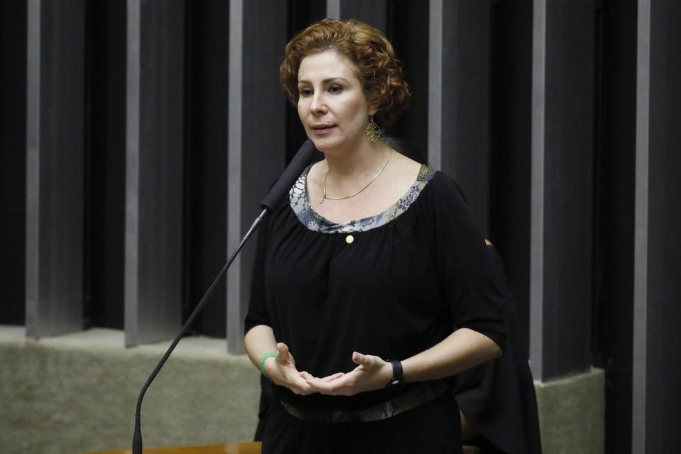A deputada Carla Zambelli (PSL-SP) — Foto: Luis Macedo / Câmara dos Deputados