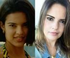 Raquel Nunes em 'Malhação' e atualmente | CEDOC/TV Globo e reprodução