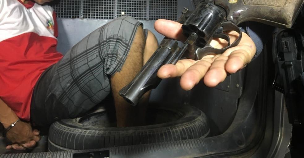 Assaltante simula sequestro e mantém a namorada refém por 2 horas em Macapá, diz polícia - Notícias - Plantão Diário