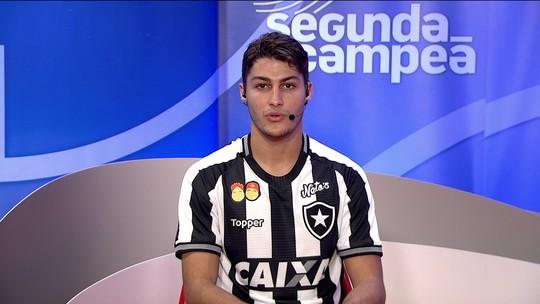 Marcinho fala sobre a estreia do Botafogo contra o Palmeiras