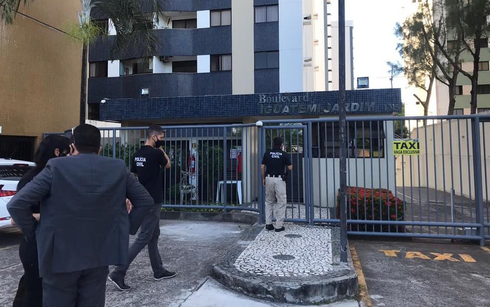 Ao todo, são cumpridos cinco mandados de busca e apreensão — Foto: Divulgação/MP-BA