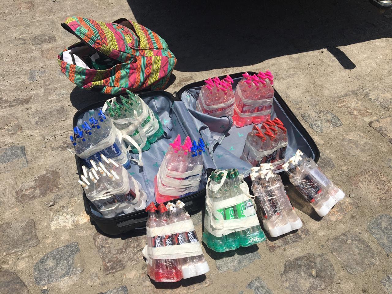 Jovem é preso em ônibus com 120 frascos de lança-perfume em Rio Largo, AL - Notícias - Plantão Diário