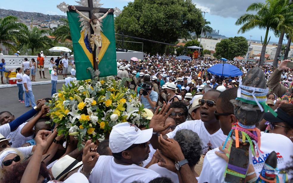 Nossa Senhor do Bonfim é celebrado oficialmente no domingo (Foto: Josemar Pereira/Ag Haack)