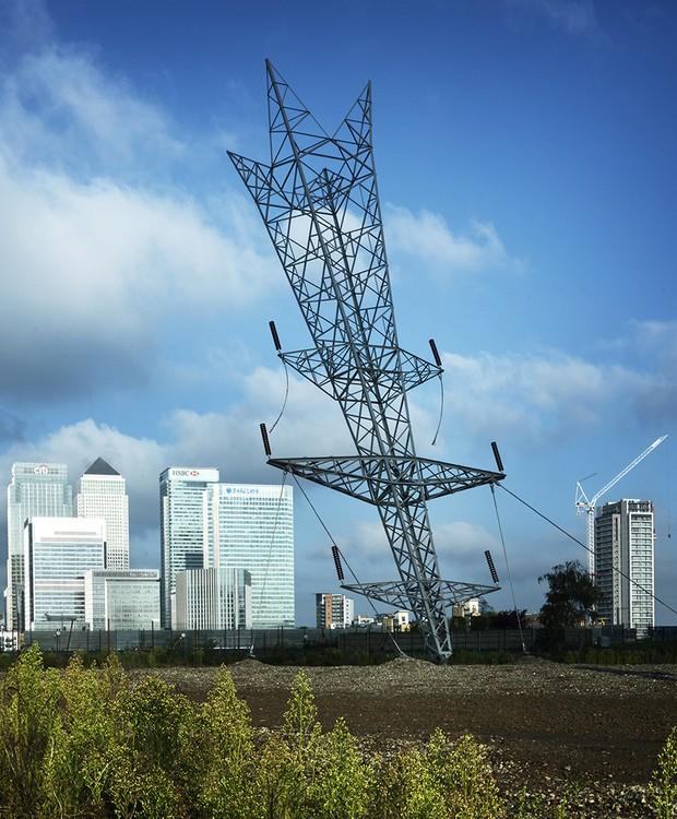 """""""Bala de estrela cadente"""", em Londres (Foto: Divulgação)"""