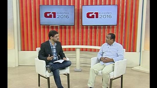 Candidato à prefeitura, Professor Ivanildo concede entrevista ao G1
