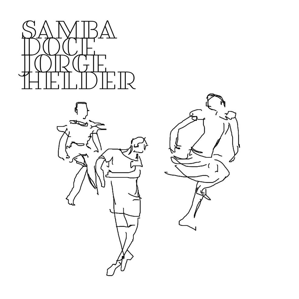 Capa do álbum 'Samba doce', de Jorge Helder — Foto: Ilustração de Fausto Nilo