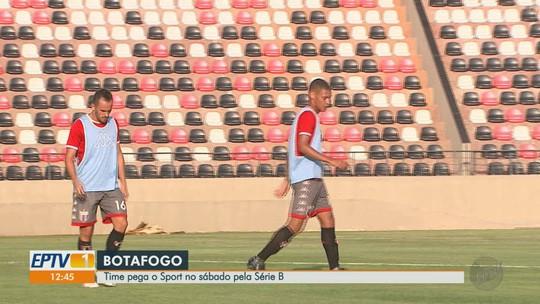 Exemplo para base, Jonata tenta se firmar entre titulares do Botafogo-SP na Série B