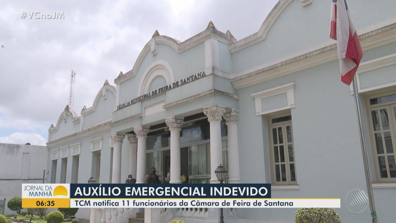 Feira de Santana: Servidores da Câmara são notificados por recebimento indevido de auxílio