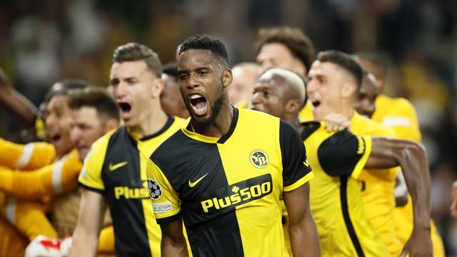 Siebatcheu marcou o gol decisivo para o Young Boys