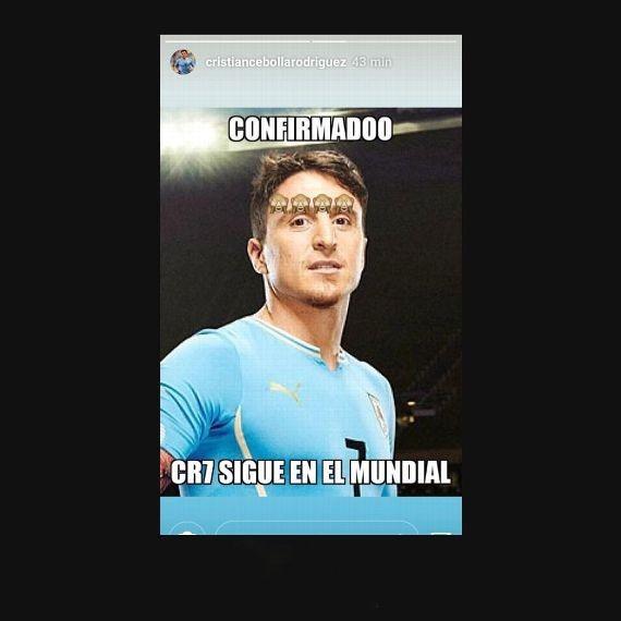 Post de Cristian Rodríguez nas redes sociais (Foto: Reprodução/Instagram)