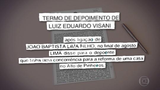 Engenheiro diz que recebeu quase R$ 1 milhão de empresa do coronel Lima por obra na casa de filha de Temer