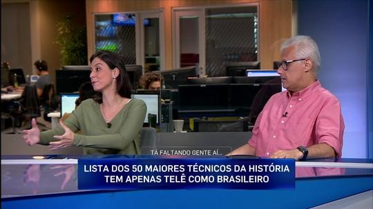 """Marcelo Barreto critica lista de melhores técnicos de revista francesa: """"Meio eurocêntrica"""""""