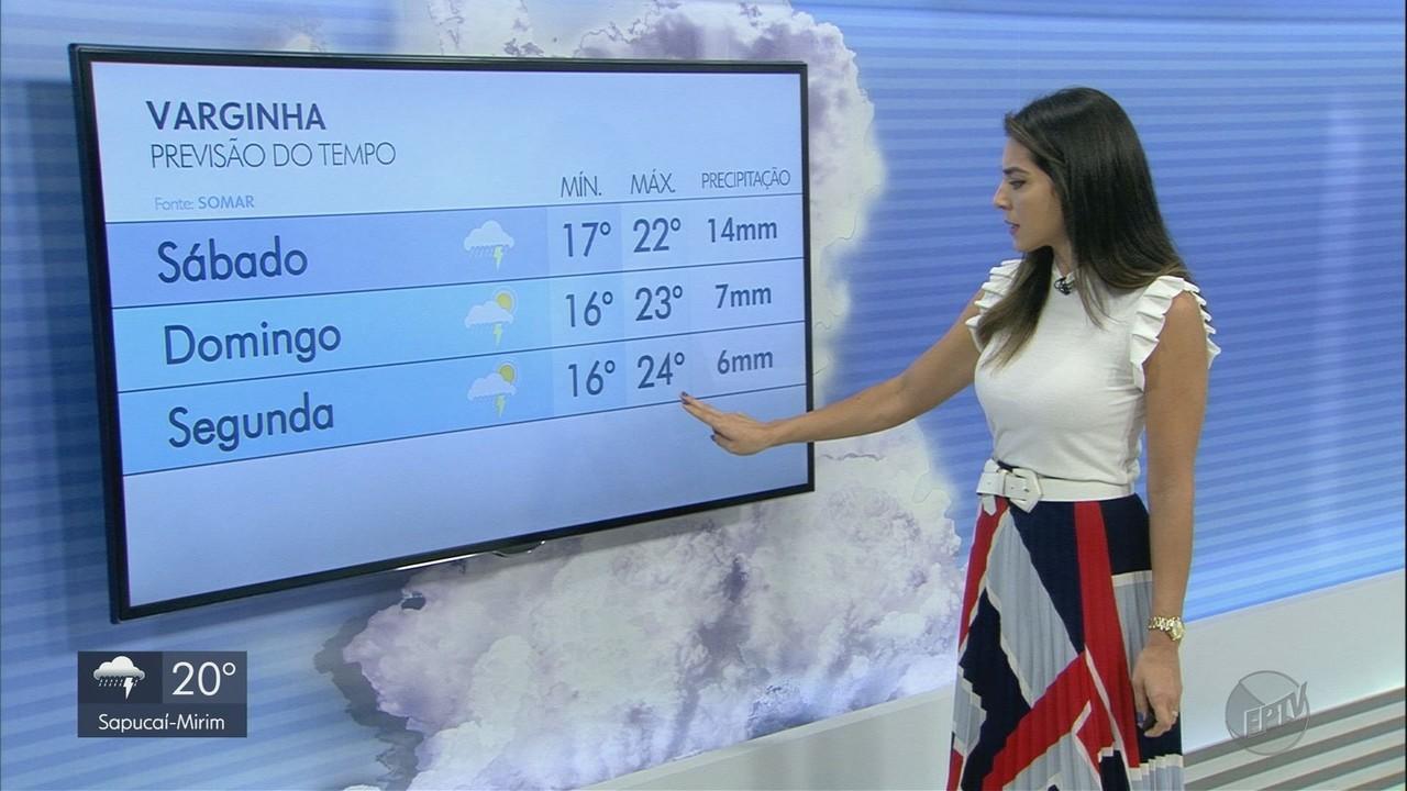 Confira a previsão a previsão do tempo para os próximos dias no Sul de MG
