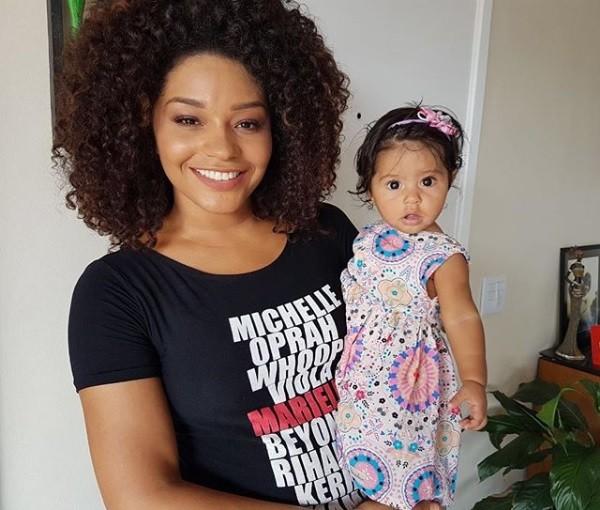Juliana Alves e filha (Foto: Reprodução)