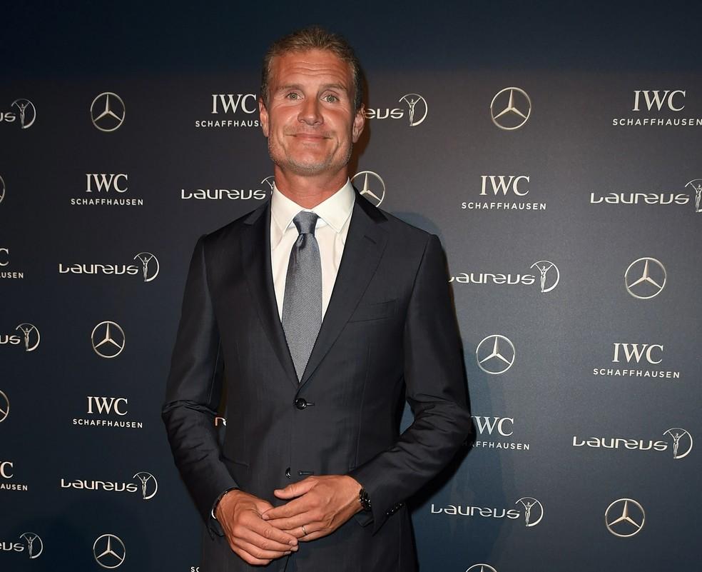 David Coulthard, prêmio Laureus — Foto: Divulgação