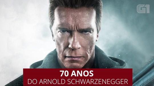 Arnold Schwarzenegger completa 70 anos; relembre momentos da vida do ator