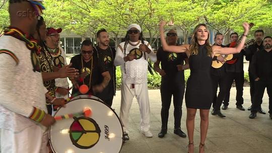 Participantes do 'Engana Que Eu Gosto' misturam o som do Olodum com dança flamenca; confira!