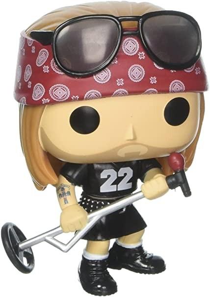 Funko Pop de Axl Rose, vocalista do Guns N' Roses (Foto: Divulgação/Amazon)
