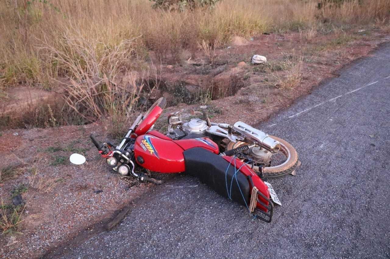 Motociclista morre atropelado na BR-414, em Cocalzinho de Goiás
