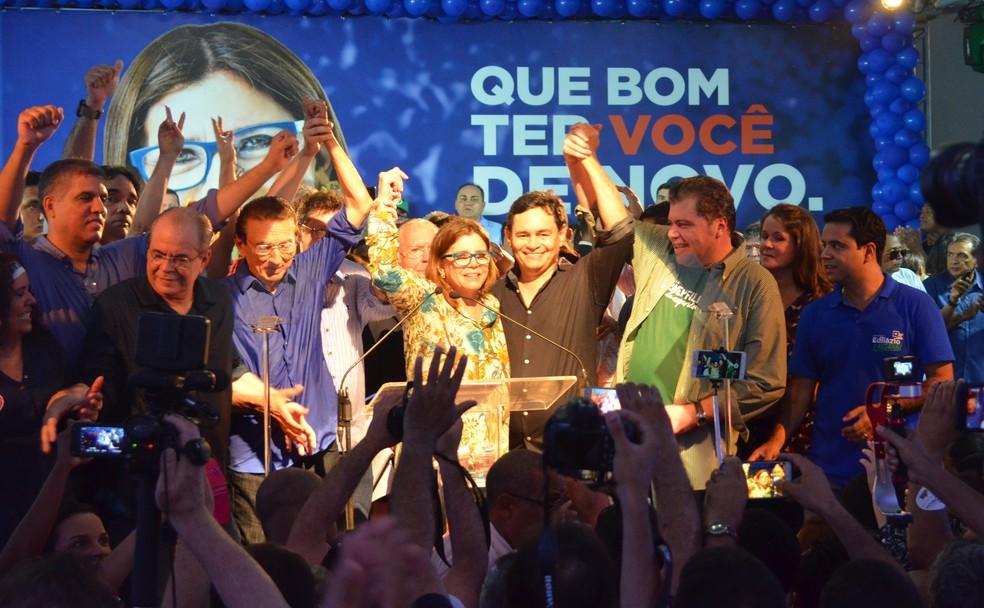 MDB confirma candidatura de Roseana Sarney a governadora do Maranhão durante convenção em São Luís (Foto: Biné Morais/O Estado)