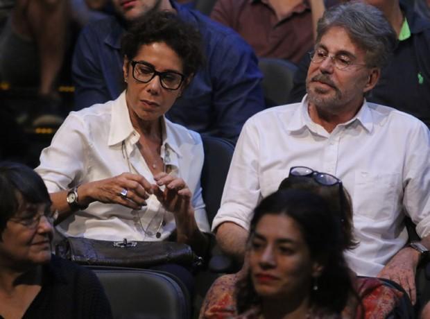 Ângela Vieira e Edwin Luisi (Foto: Daniel Pinheiro/AgNews)