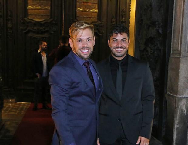 Bruno Chateaubriand e Diogo Bocca  (Foto: Francisco Silva/ AgNews)