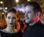 Murilo Benício e Nanda Costa em cena como Raul e Érica em 'Amor de mãe' | TV Globo