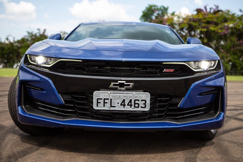 Chevrolet Camaro 2019 — Foto: Fabio Tito/G1