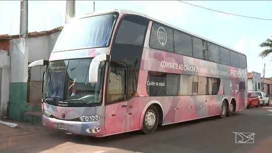 Ônibus leva ações sobre prevenção ao câncer de mama em Imperatriz