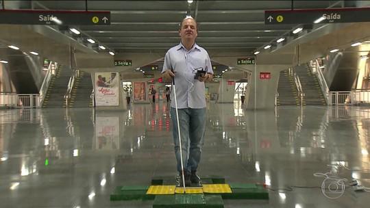 Alunos da BA criam sistema de menos de R$ 300 que anuncia chegada de ônibus em pontos para auxiliar cegos: 'Autonomia'