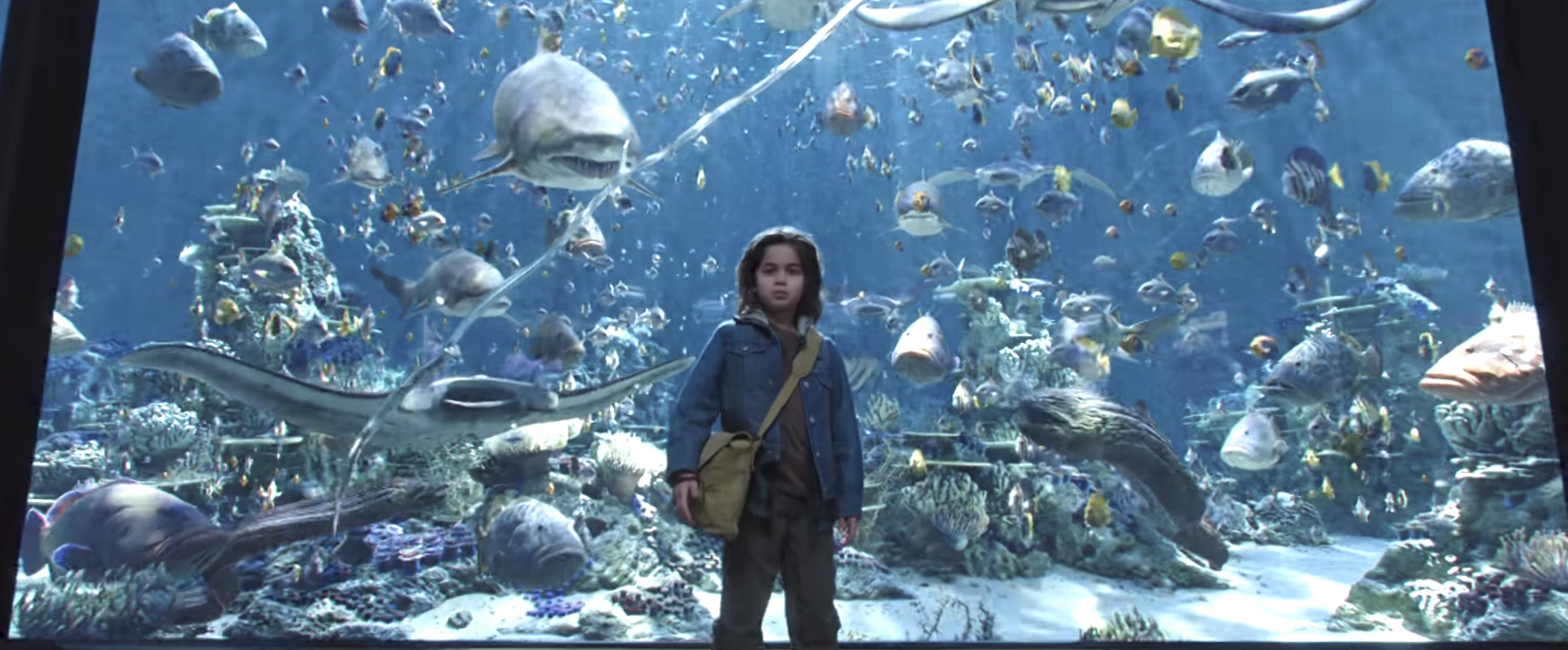 Cena do novo trailer de Aquaman. (Foto: Reprodução)