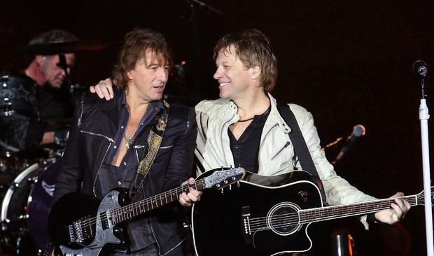 Richie Sambora e Bon Jovi (Foto: Getty Images)