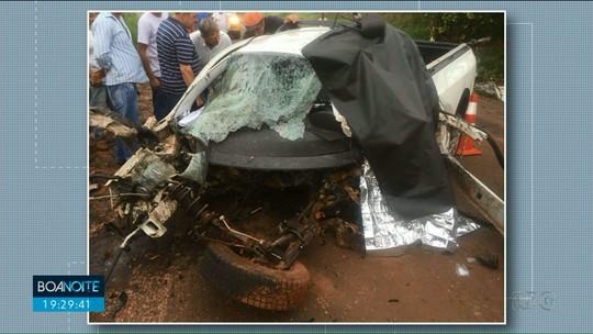 Motorista morre ao bater veículo em árvore próximo a Terra Boa