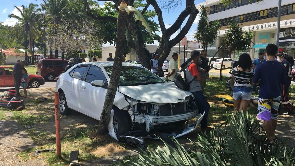 Motociclista colide com carro durante perseguição em João Pessoa, diz polícia