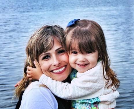 Duda com a filha, Ana Laura (Foto: Reprodução Instagram)