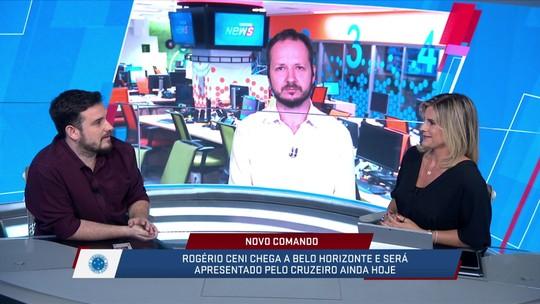 SporTV News debate a chegada do Rogério Ceni no Cruzeiro