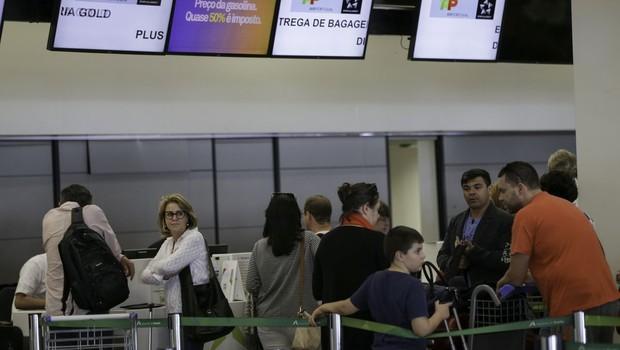Os gastos de brasileiros em viagens ao exterior estão menores (Foto: Fabio Rodrigues Pozzebom/Agência Brasil)