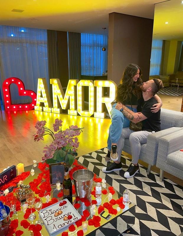 Bianca Andrade e Fred comemoram aniversário de namoro (Foto: Reprodução/Instagram)