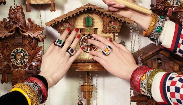 A nova coleção de acessórios da Gucci que acaba de chegar ao Brasil (Foto: Divulgação)