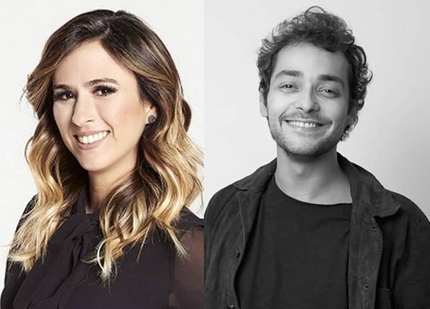 Tata Werneck e Eduardo Sterblicht vão estrelar série na Globo (Foto: Reprodução / Instagram)