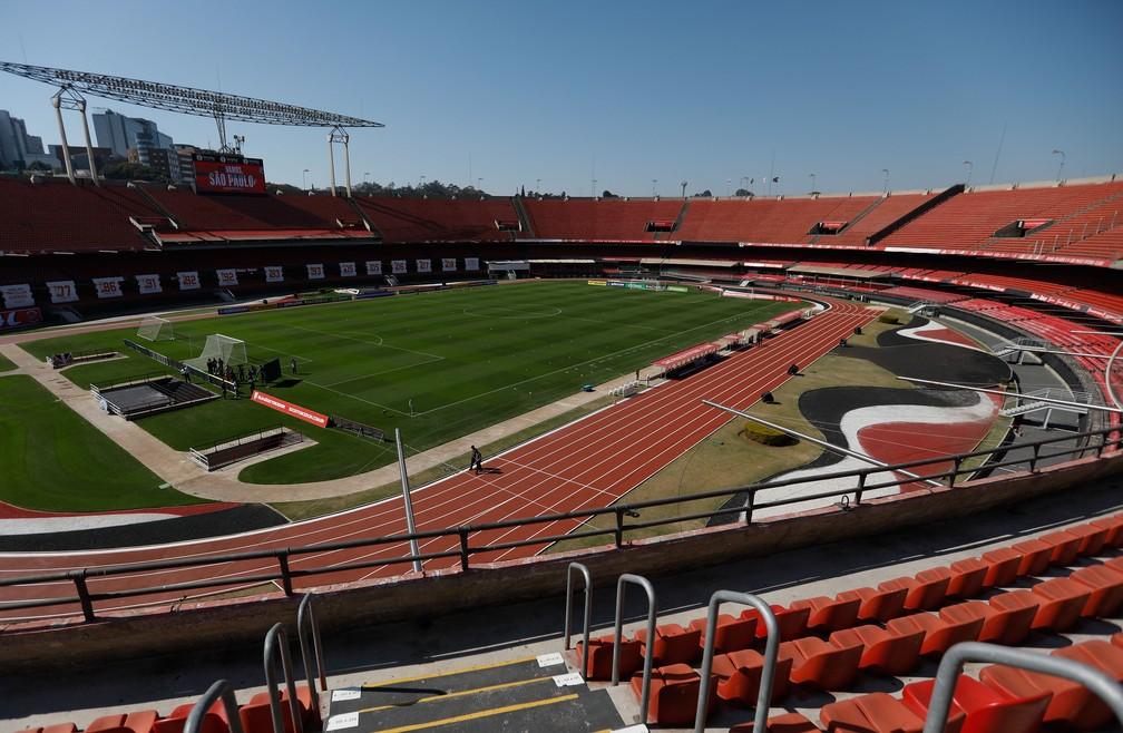 Morumbi irá receber São Paulo x Santos no dia 7 de outubro — Foto: Luiza Moraes/Staff Images