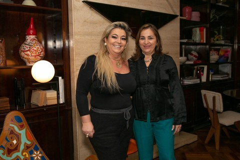 Regiane Alonso e Paula Michelon