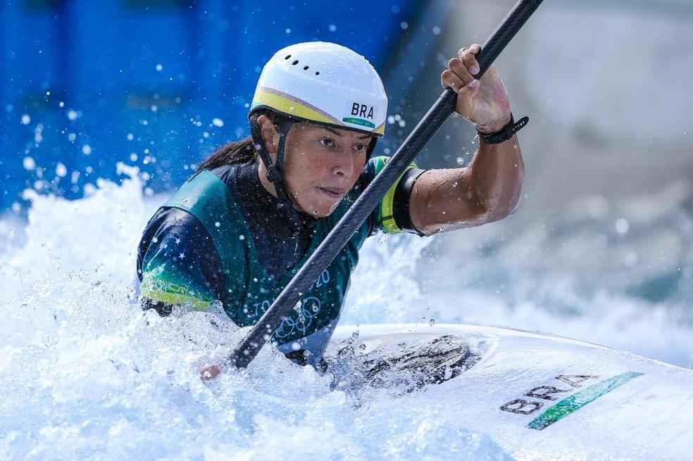 Ana Sátila nas Olimpíadas — Foto: Wander Roberto/COB